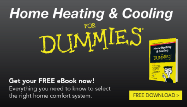Download Your Free Heating and Cooling for Dummies eBook